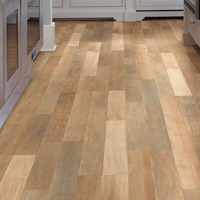 """Shaw Floors Landscapes 8"""" x 48"""" x 6.5mm Maple Laminate in Holbrook Maple"""