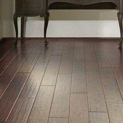 "Shaw Floors Kingwood 5"" Engineered Hickory Hardwood Flooring in Estate"