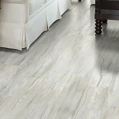 "Floorte Classico 6"" x 48"" x 6.5mm Vinyl Plank in Bianco ..."