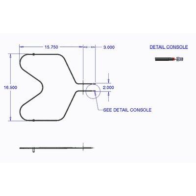 Bake Element Wall Oven and Range for Jenn Air, Whirlpool Brands
