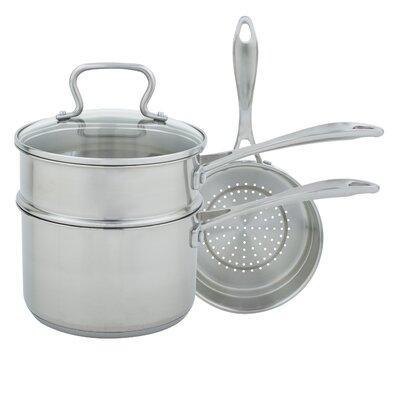 3-qt. 4 Piece Sauce Pan Set with Lid