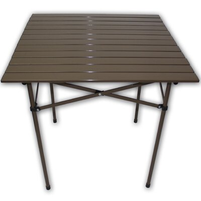 String Light Company Lightweight Aluminum Picnic Table