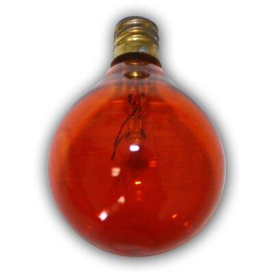 Incandescent Light Bulb Color: Amber