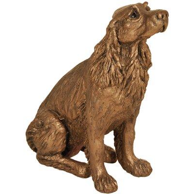 Frith Sculpture Winston Springer Spaniel Sitting Figurine
