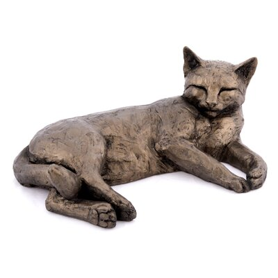 Frith Sculpture Polly Cat Lying Figurine