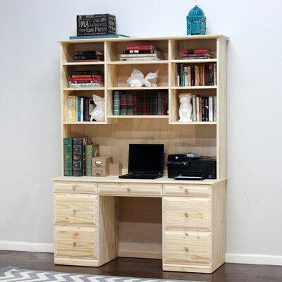 Riverdale Executive Desk Finish: Unfinished