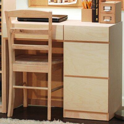 Flat Shaker Desk Finish: Colonial Maple
