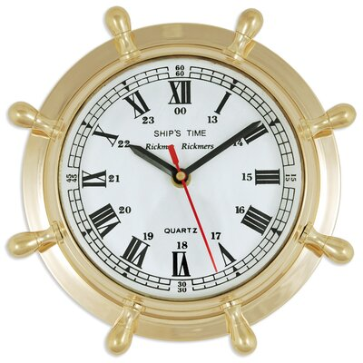 Batela 22cm Rudder Wall Clock