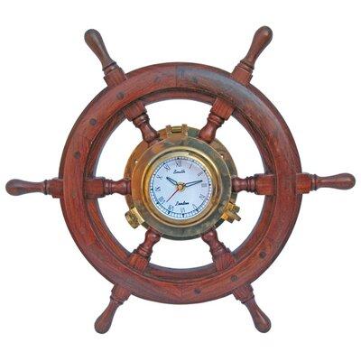 Batela 45cm Rudder Wall Clock