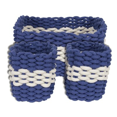 Batela 3 Piece Rope Basket Set