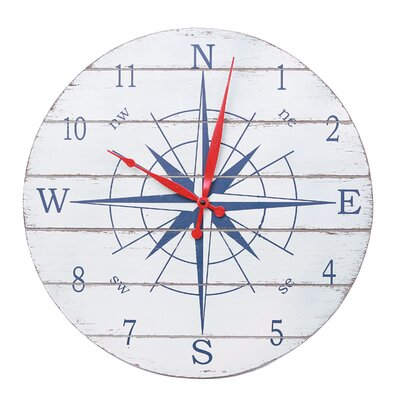 Batela Oversized 50cm Rose of The Wind Clock