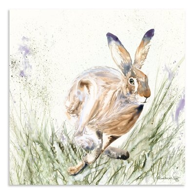 Art Marketing Riley by Heather Fitz Art Print Wrapped on Canvas