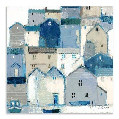 Art Marketing Indigo by Sabrina Roscino Art Print Wrapped on Canvas