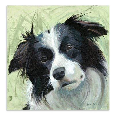 Art Marketing Charlie by Sian Tezel Art Print Wrapped on Canvas