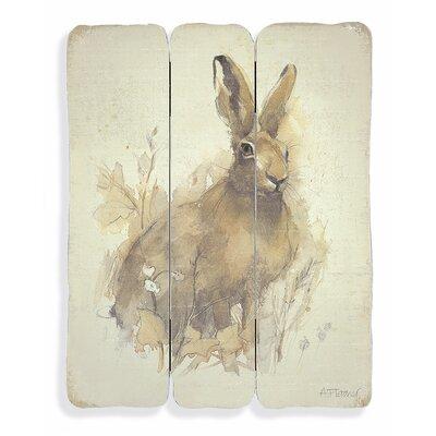 Art Marketing March Hare by Adelene Fletcher Art Print on Canvas