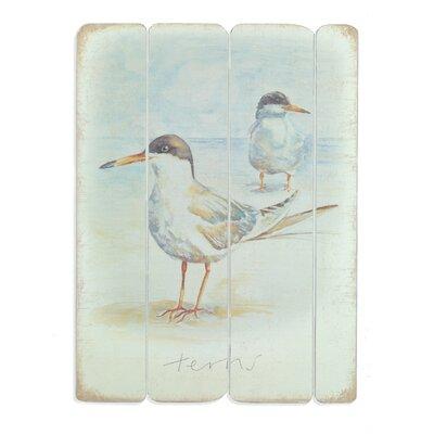 Art Marketing Terns by Ulyana Hammond Art Print on Canvas