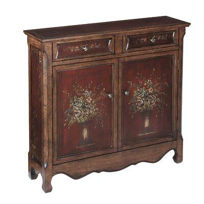 Desirae 2 Drawer Cupboard Accent Cabinet