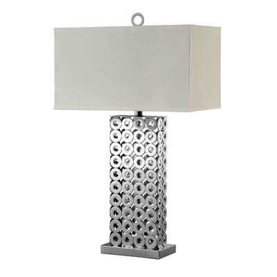 """Stein World Newman 30"""" H Table Lamp with Rectangular Shade"""