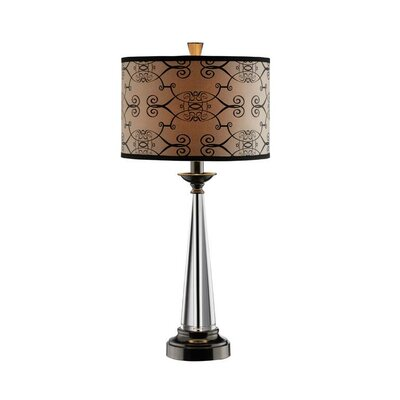"""Stein World Tapered 29.5"""" H Table Lamp with Drum Shade"""