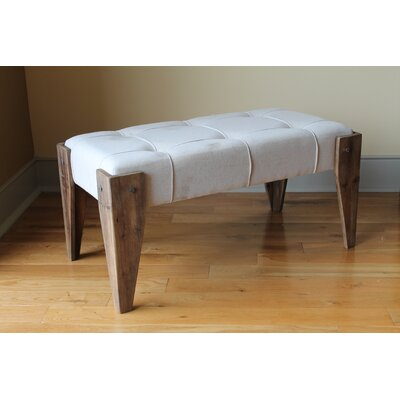 Westwood Upholstered Bench Upholstery Color: Off White