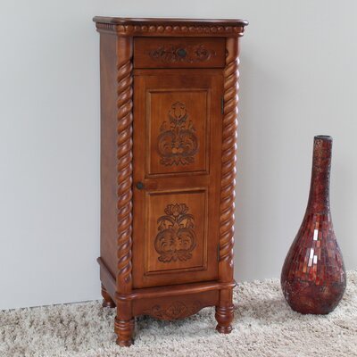 Windsor 2 Drawer Tall Accent Cabinet