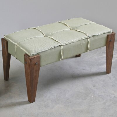Westwood Upholstered Bench Upholstery Color: Sage