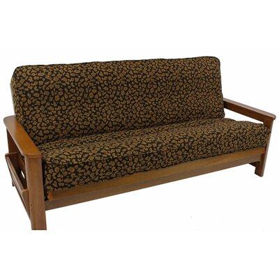 Box Cushion Futon Slipcover Upholstery: Kenya