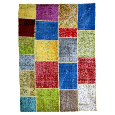 Happy Friday Hand-Woven Multi-Coloured Area Rug