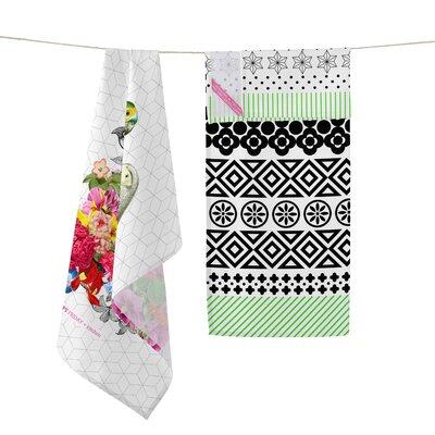 Happy Friday Bouquet 2-Piece Tea Towel Set