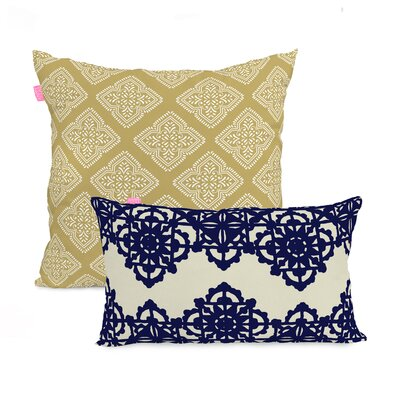 Happy Friday Embroidery 2 Piece Cushion Cover Set