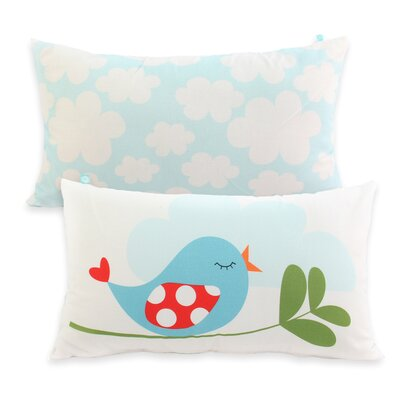 Happy Friday Little Birds 100% Cotton Cushion Cover