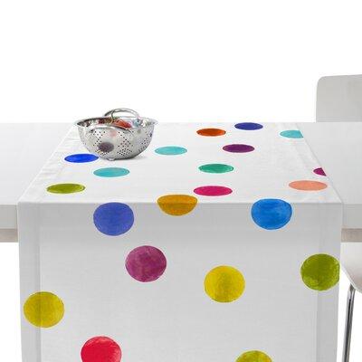 Happy Friday Confetti Table Runner