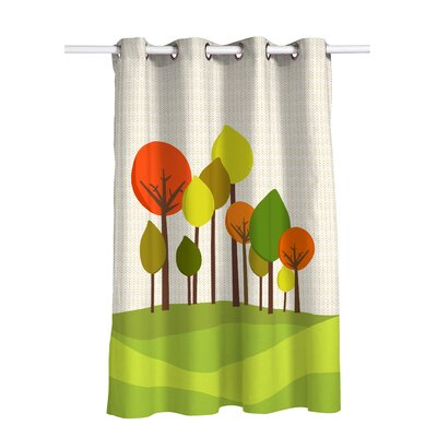 Happy Friday Little Pigs Curtain Single Panel