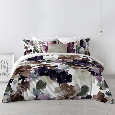 Happy Friday Sunset Garden Duvet Set