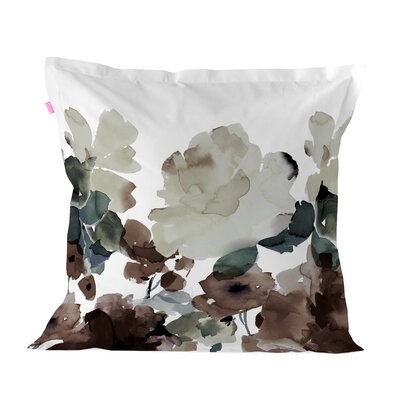 Happy Friday Sunset Garden 100% Cotton Cushion Cover