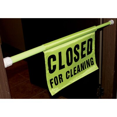 """30"""" - 44"""" Closed For Cleaning Pole Safety (Set of 6)"""