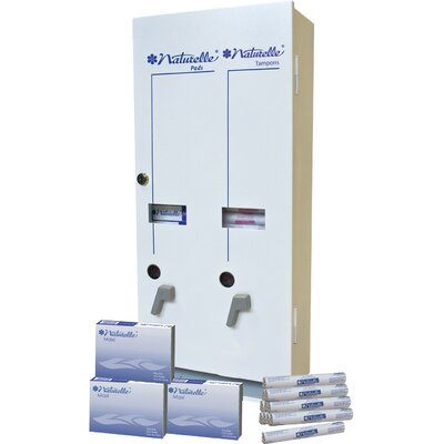RMC Dual Sanitary Napkin/Tampon Vendor Dispenser