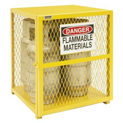 """33.5"""" H x 30"""" W x 30"""" D Vertical Cylinder Storage Cabinet"""