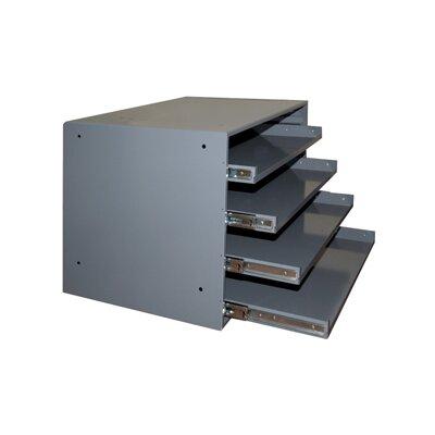 Heavy Duty Prime Cold-Rolled Steel Triple Track Bearing Slide Rack
