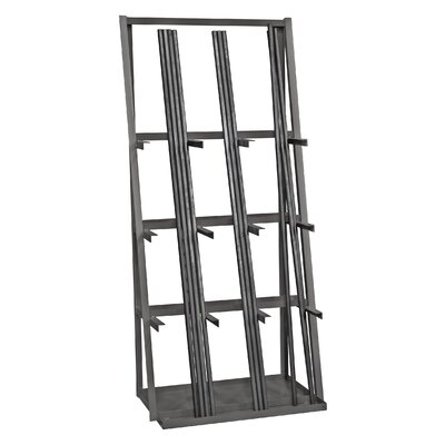 14 Gauge Steel Vertical Long Parts Storage Rack