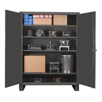 """42"""" H x 36"""" W x 24"""" D Extra Heavy Duty Welded 12 Gauge Steel Lockable Storage Cabinet"""