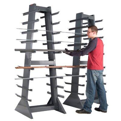 Heavy Duty 14 Gauge Steel Horizontal Storage Rack
