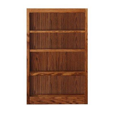 Standard Bookcase Finish: Dry Oak