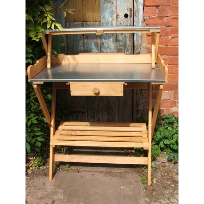 Heritage Traders Wooden Potting Bench