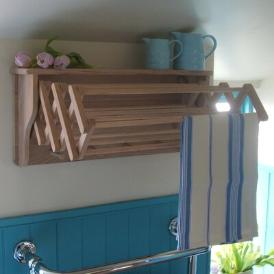 Heritage Traders Wall Clothes Airer