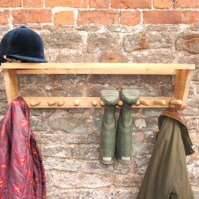 Heritage Traders Boot Rack Wall Mounted Coat Rack