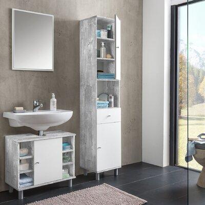 Wilmes 3-tlg. Badezimmer-Set Simply