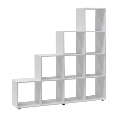 Wilmes Raumteiler Treppenregal 142.5 x 138.5 cm
