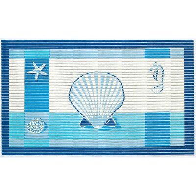 Friedola Sympa Nova Premium Cushioned Ocean Shell Doormat