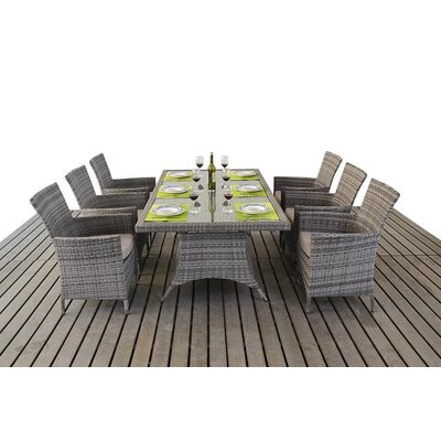 Port Royal 6 Seater Dining Set